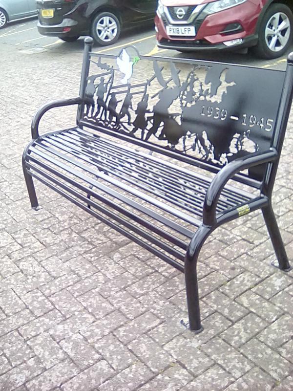 Metal Memorial Benches Uk