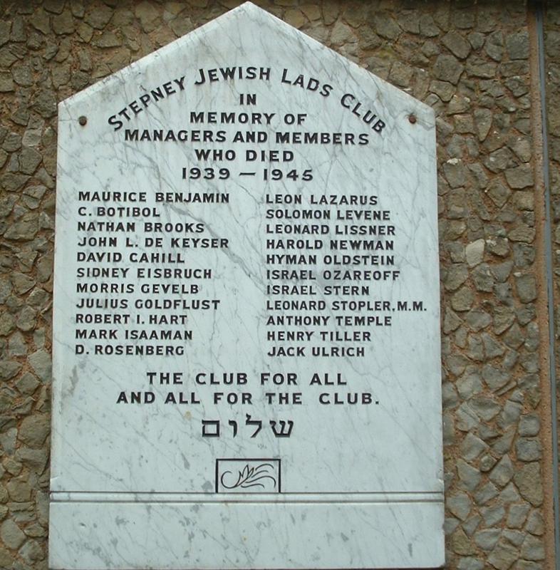 Stepney Jewish Lads Club - WW2 | War Imperial War Museums