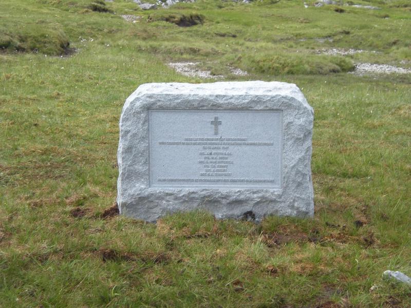 Anson N9857 Crash Site (Ben More, Assynt) | War Imperial War