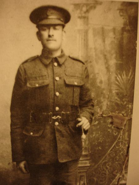 Henry Nicholls in Uniform
