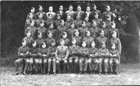 Duncan William Mackenzie with Air Cadets