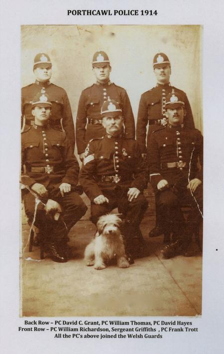 Porthcawl Police 1914