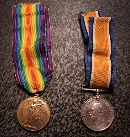 Harry Smith's medals