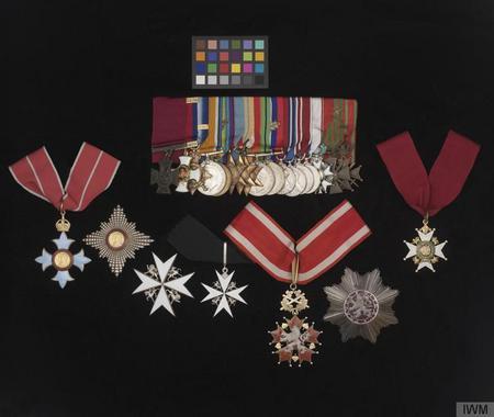 Philip's medals