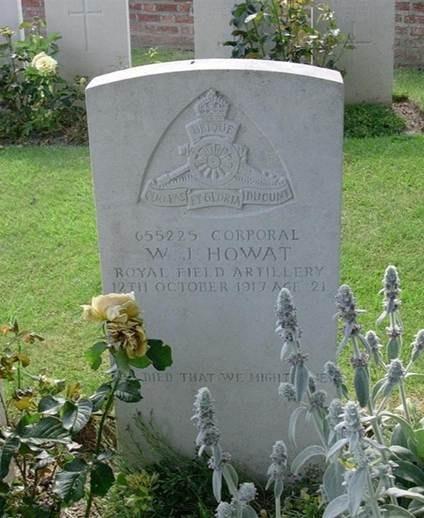 William Howat Grave