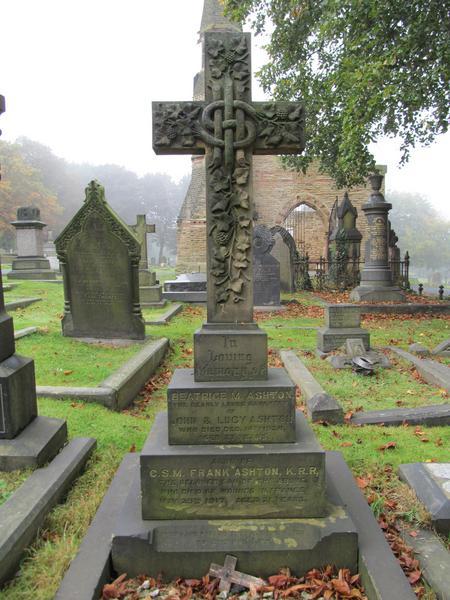 Frank Ashton Headstone