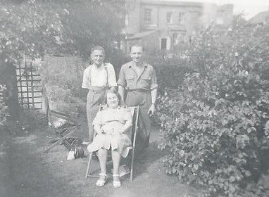 Wilfred with Gladys and Cyril