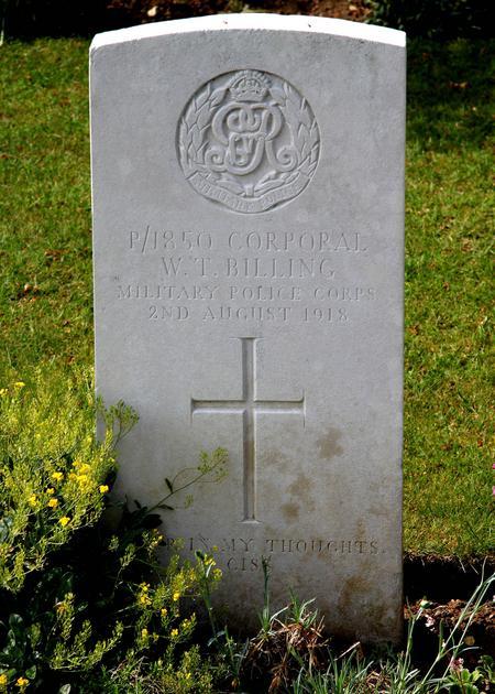 Profile picture for William Thomas Billing