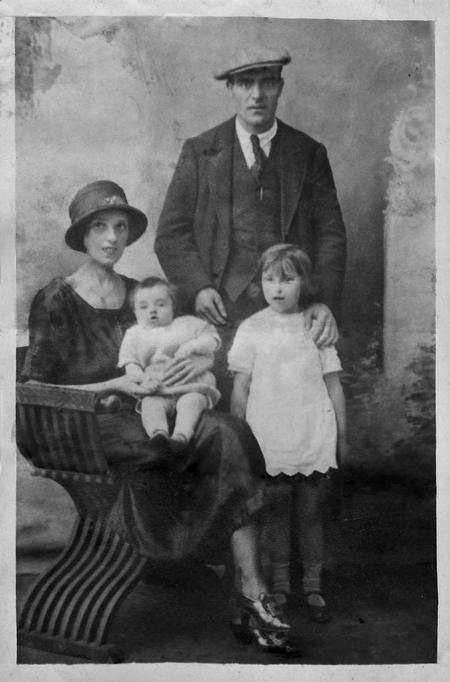 Frederick's young family