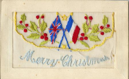 Happy Christmas PPC from the front