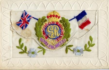 Royal Engineers post card