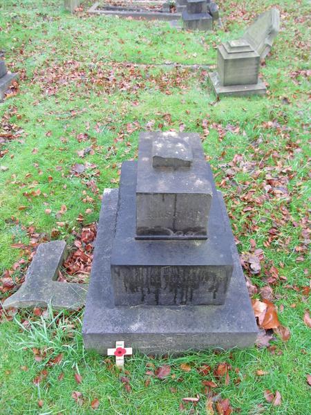 Arthur Edward Flaxman Headstone