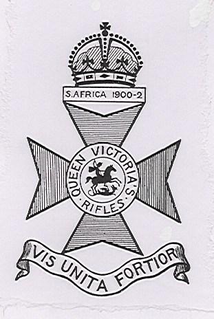 QVRs 9th London Regiment