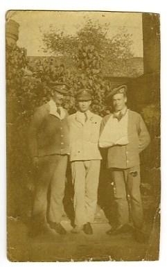 Recuperating in 1917