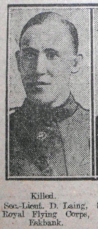 John Laing, RFC, d. 24.10.17