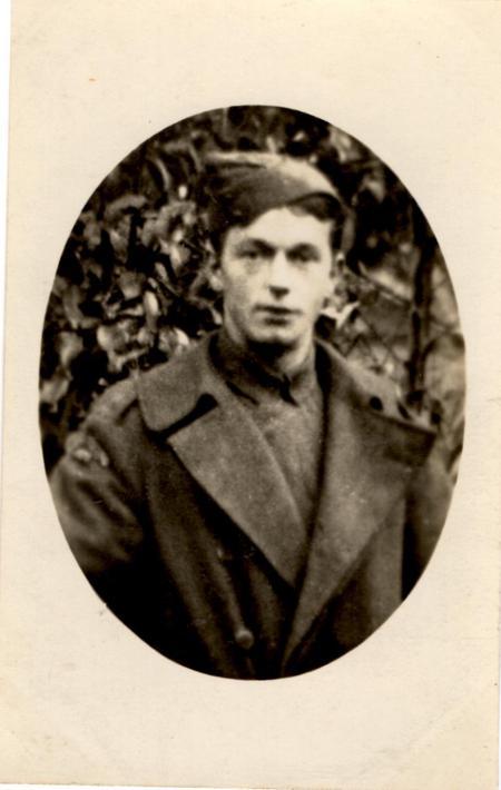 Thomas Frederick Eaton in uniform