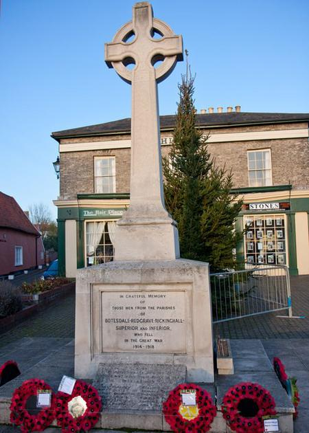 War Memorial   Botesdale
