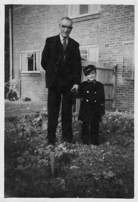 Frederick and his Grandson, Michael John Southgate