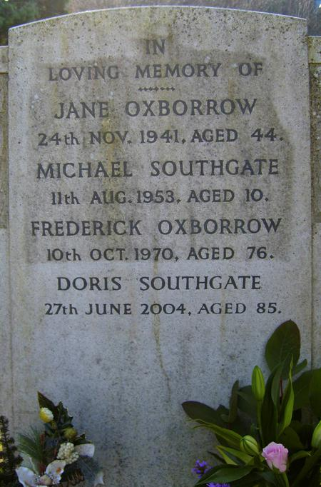 Frederick's Grave Stone