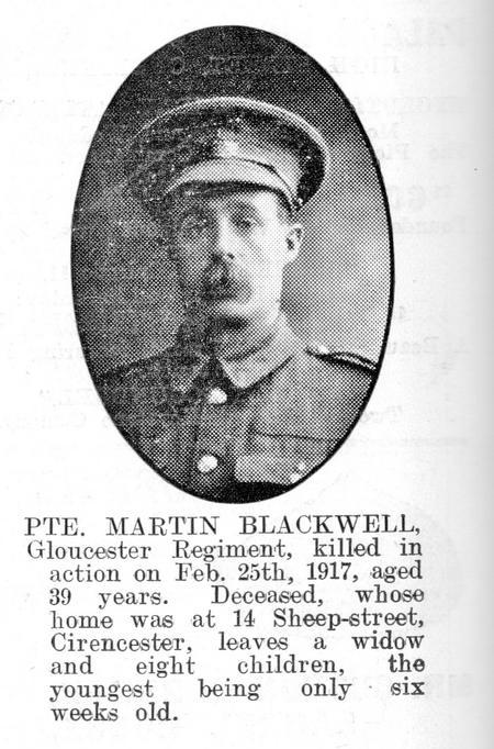 Profile picture for Martin William. Blackwell