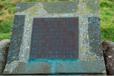 Windwick Bay memorial