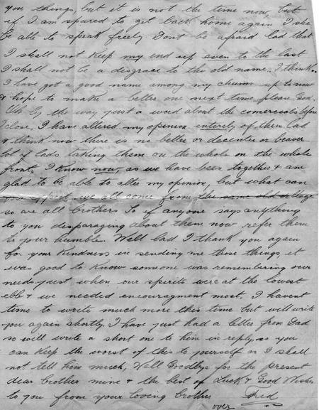 Letter from France, page 3 of 4