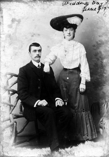 Stephen Smith and Sarah Ann Wedding Day