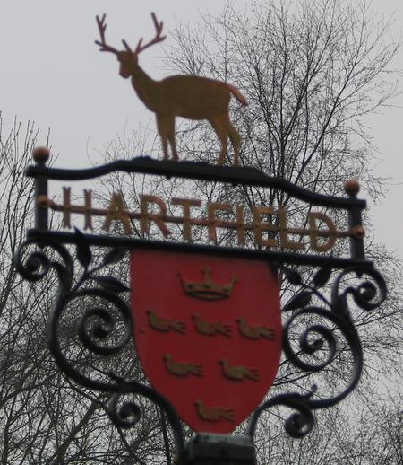 Hartfield Village Sign