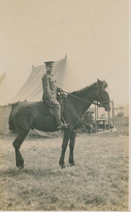 Image on horseback