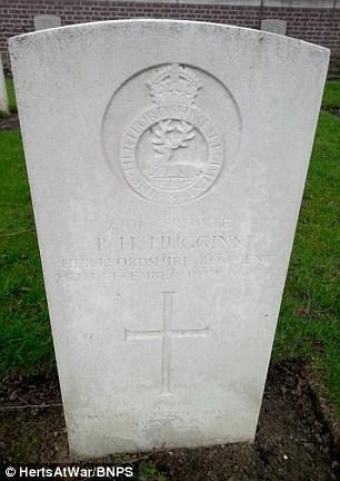 Percy's grave