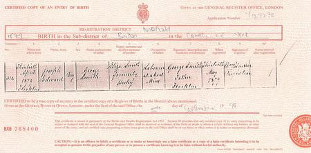 1879 birth of Joseph Edward Smith
