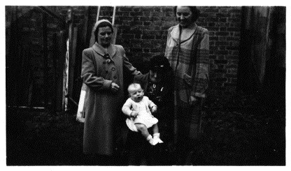 1953 photo of Ellen Audsley (formerly Smith)