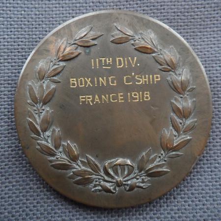 11th Division Boxing Championship Medal