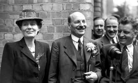 clement Attlee and his wife, Violet
