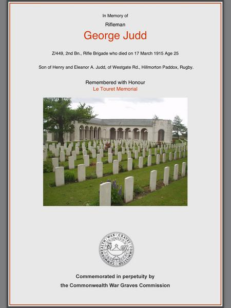 CWGC Remembrance