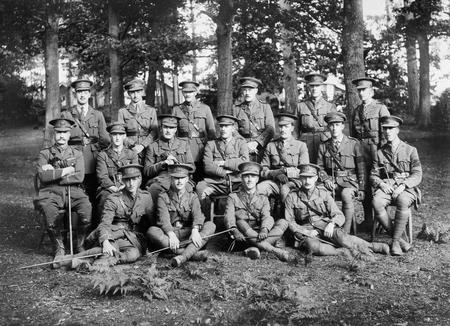 Officers of 3/5th Manchester Regiment