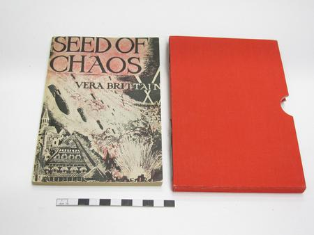 Copy of Vera's 1944 book Seed of Chaos
