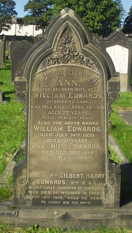 Profile picture for Gilbert Harry Edwards