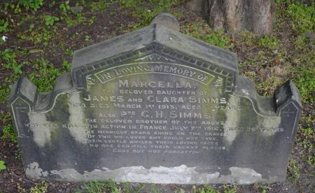 George remembered in Barnsley Cemetery