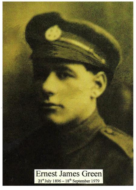 Profile picture for Ernest James Green