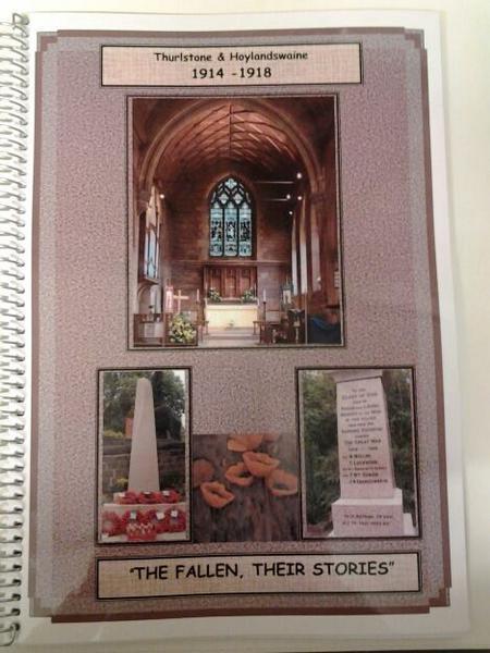 Thurlstone & Hoylandswaine book