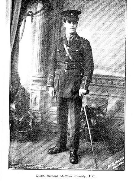bernard m cassidy  in uniform