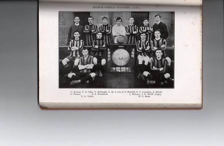 Senior Shield Winners 1908-9
