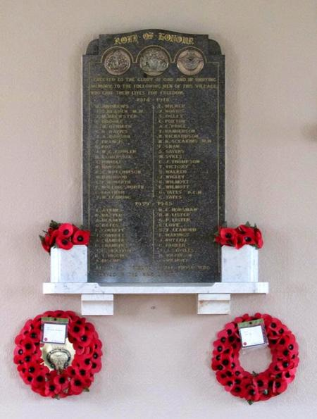 Great Houghton, Miners' Welfare Hall, Memorial