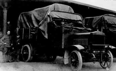 Frank Laister & ASC lorry from Slack Ancestry Tree