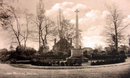 War Memorial, Beccles, Suffolk