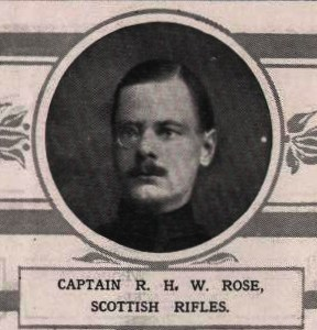 London Illustrated News extract Capt Rose