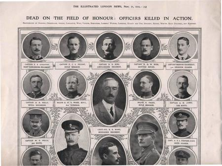 Illustrated London News page - including Capt Rose