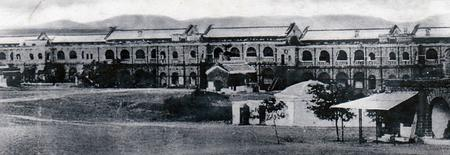 British Infantry Barracks ( Wellesley), Mhow, Indi
