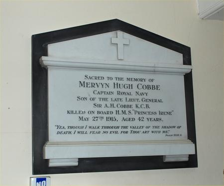 Profile picture for Mervyn Hugh Cobbe